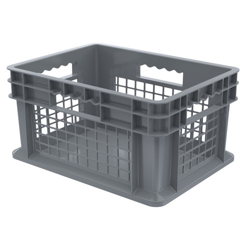 Container, Straight Wall Container, MeshSolid   37278GREY