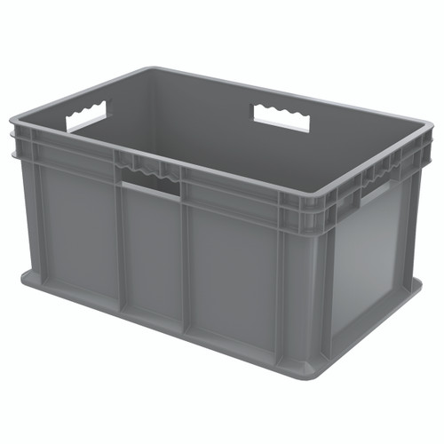 Container, Straight Wall Container, Solid   37682GREY