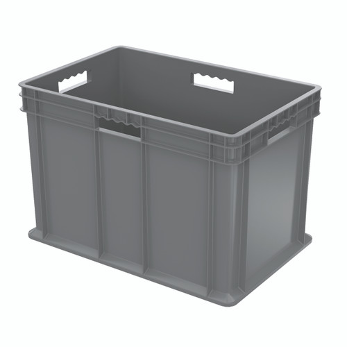 Container, Straight Wall Container, Solid   37686GREY