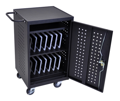Luxor Tablet Charging Cart LLTM30-B