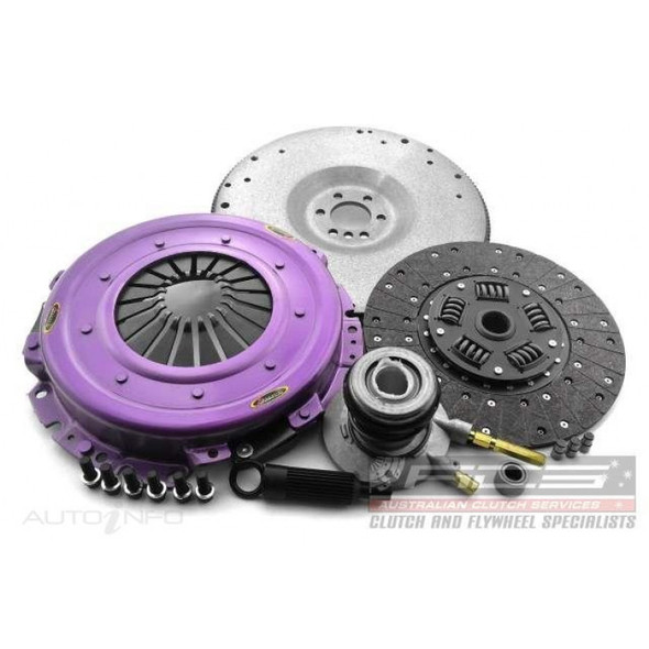 Xtreme Clutch Kit Inc Flywheel & CSC-Sprung Organic-Non SAC