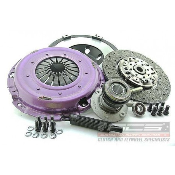 Xtreme Clutch Kit Inc Flywheel & CSC-Cushioned Ceramic-Non SAC