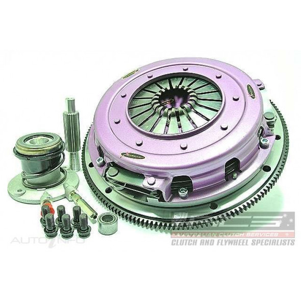 Xtreme Clutch Kit Inc Flywheel & CSC-270mm Twin Solid Organic
