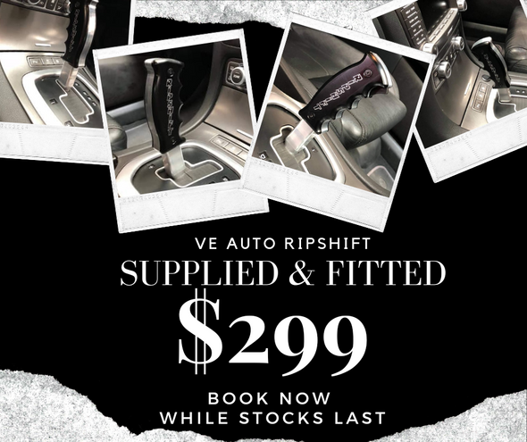 Workshop Special Supplied & Fitted VE V6 & V8 Ripshift Trigger Shifter Handle