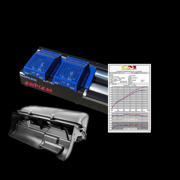 VE V8 STAGE 2 - 320kw - Catback, Intake & Tune