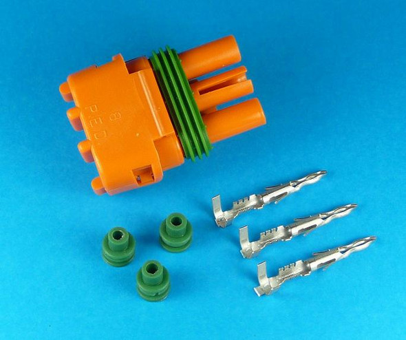 2 / 3 BAR MAP SENSOR 3 PIN CON ORANGE