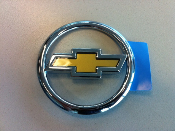 Chev Chrome & Gold Ute Tailgate Badge
