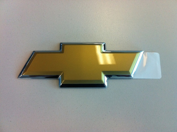 Chev Holden VZ Chrome & Gold  Boot/Tailgate Badge