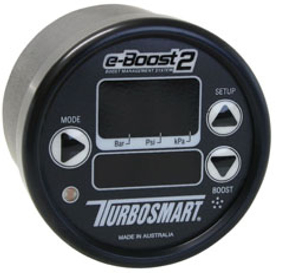 E-Boost 2 Boost Controller & Gauge (60mm) Black / Black