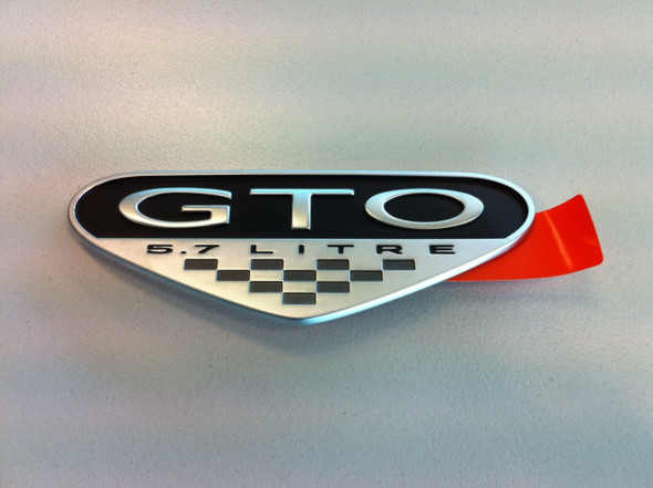 GTO 5.7lt Badge
