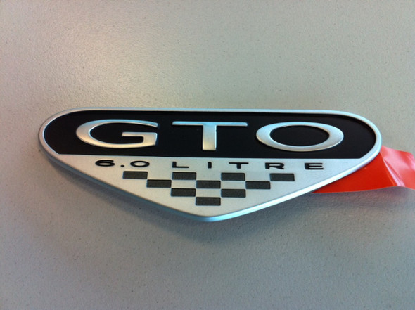 GTO 6.0lt Badge