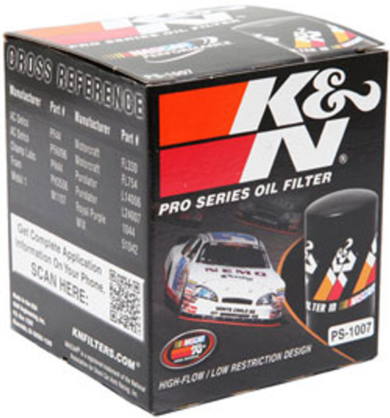 K&N Oil Filter PS-1007 Suits Holden VN - VP - VR - VS - VT - VU - VX - VY - VZ