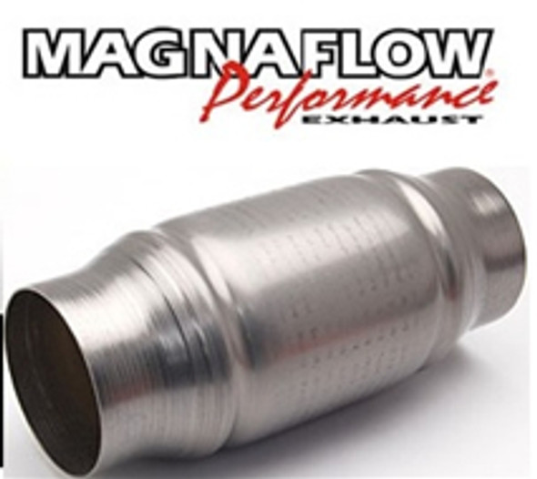 Magnaflow 200 cell / CPSI metal core stainless body round shape