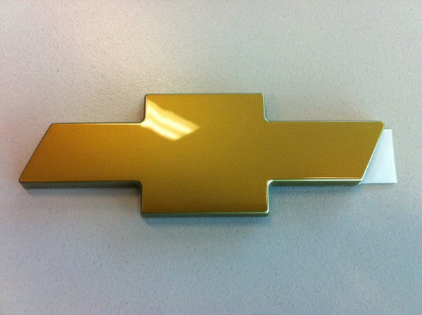 Chev Gold Boot Bowtie Badge