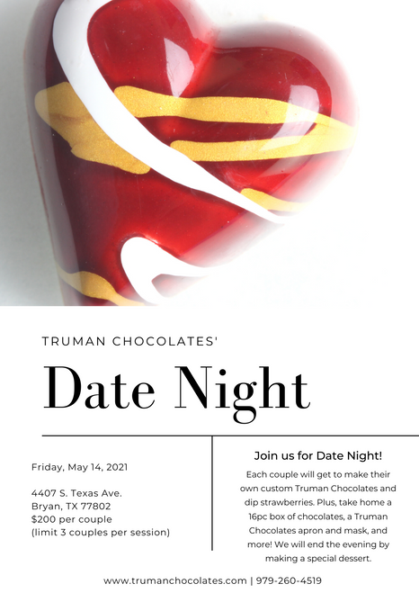 Date Night Registration-Friday, May 14, 2021