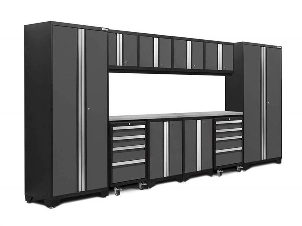 NewAge Bold 3.0 Grey 12 Piece Set w/Stainless Steel Worktop