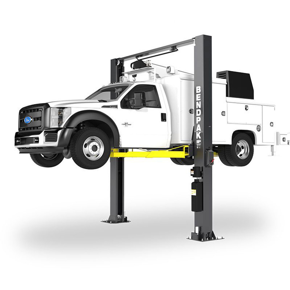 BendPak XPR-12CL-LTA 12,000-lb. Capacity / ALI Certified Two-Post Lift / Clearfloor / Long-Reach Telescoping Arms
