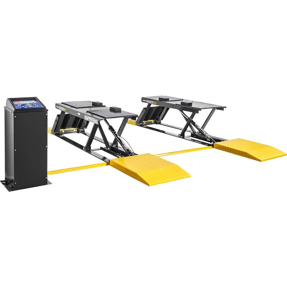 BendPak P-9000LT 9,000-lb. Capacity ALI Certified / Low-Rise Lift / Open-Center / Pit-Style ALI Certified