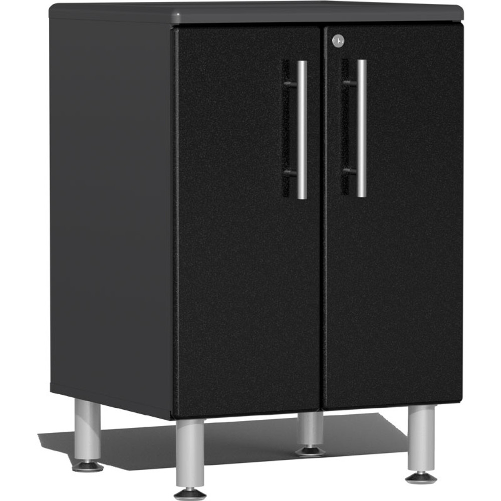 Ulti-MATE Garage 2.0 Series Black Metallic 2-Door Base Cabinet