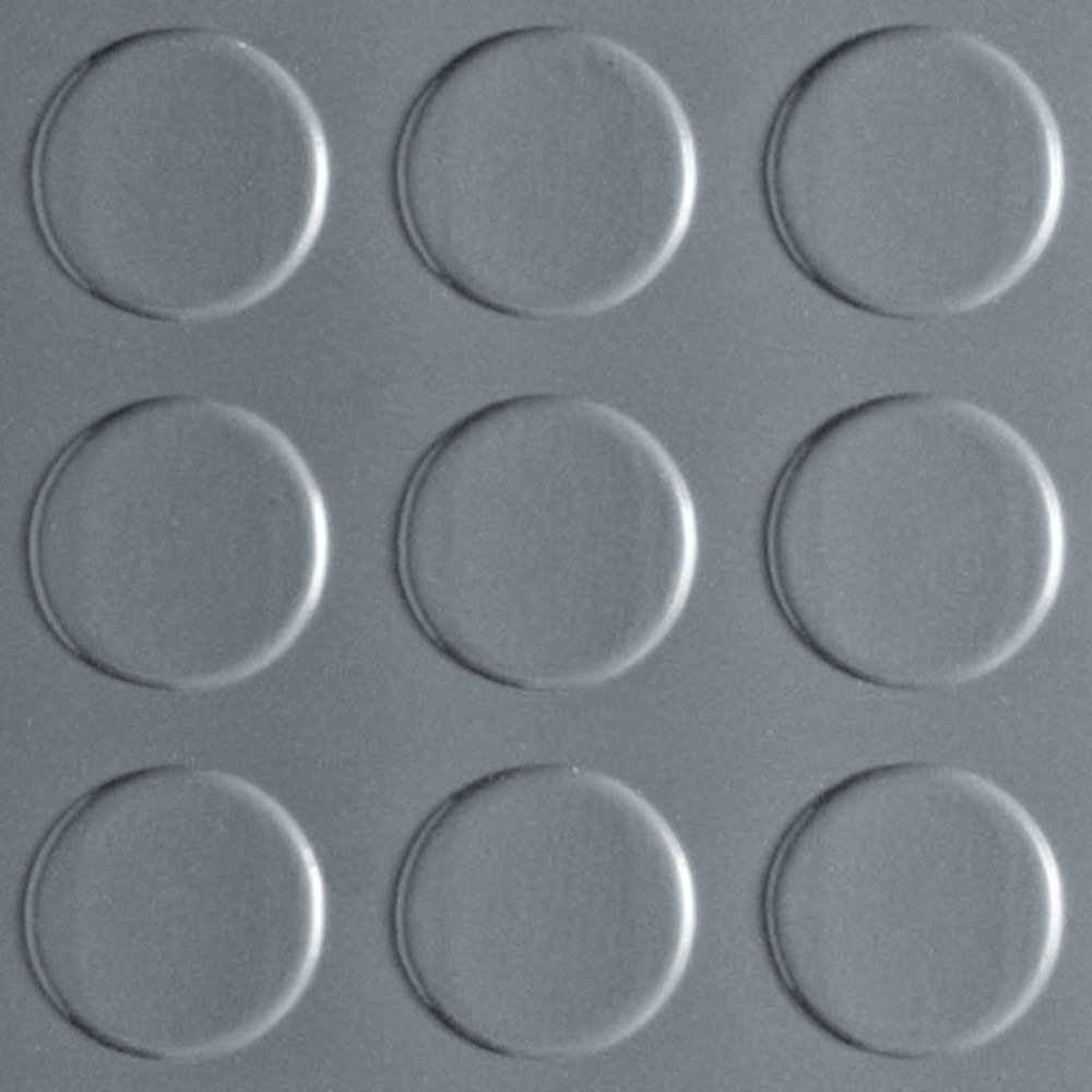 Coin Pattern G-Floor 75 mil - 7.5' W x 17' L