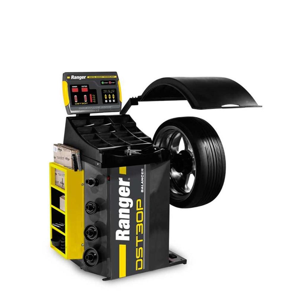 Ranger DST30P Wheel Balancer / 36mm Shaft / 110-240V, 1-Phase, 50/60hz - Yellow/Gray