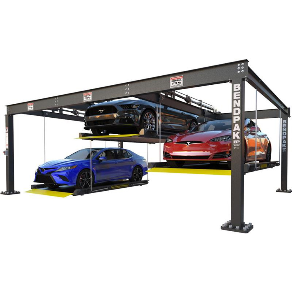 BendPak PL-6KT 6,000-lb. Capacity / Parking Lift / Triple / Independent Platforms / SPECIAL ORDER