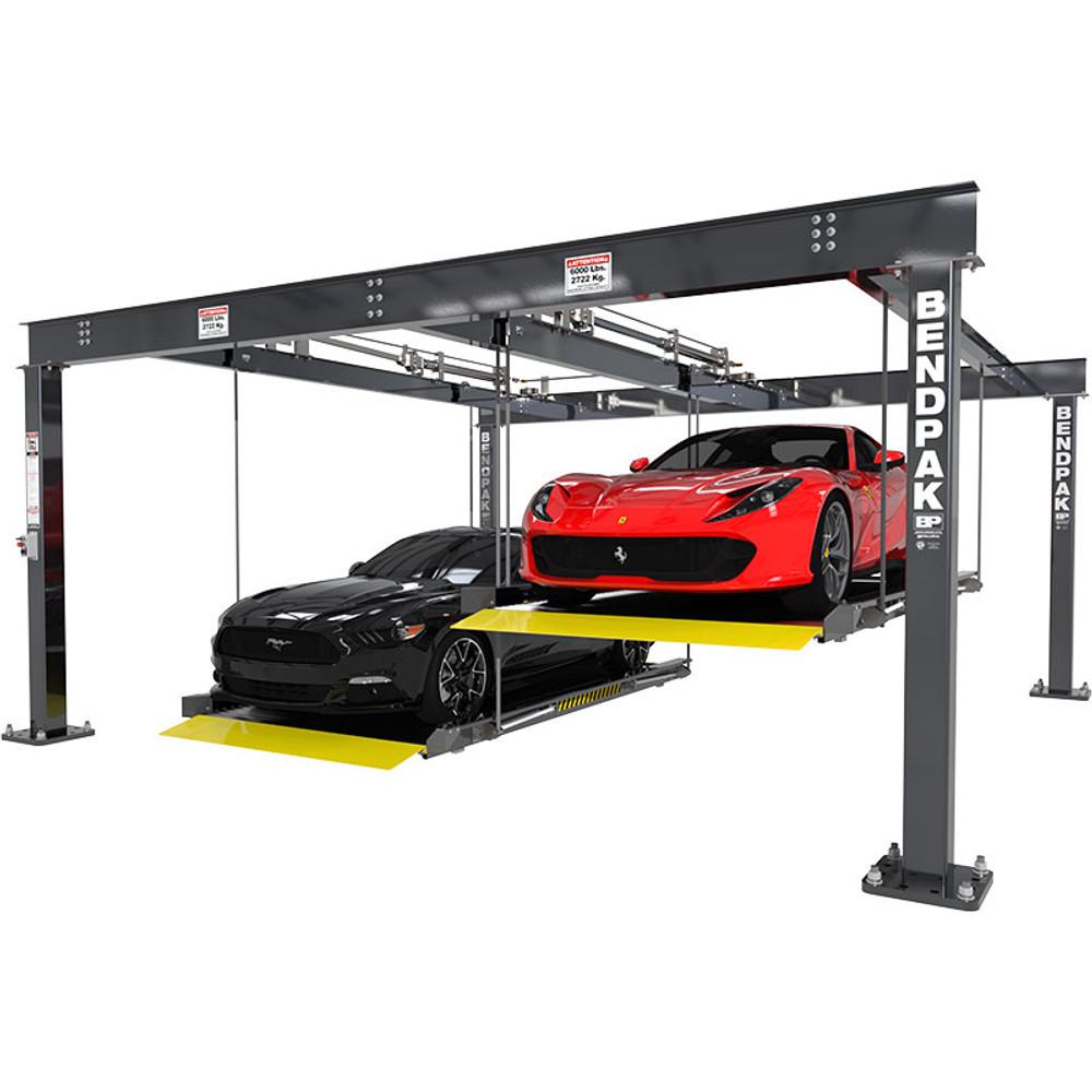 BendPak PL-6KDTX Extra Wide 6,000-lb. Cap. Parking Lift / Tandem / Independent Platforms / SPECIAL ORDER