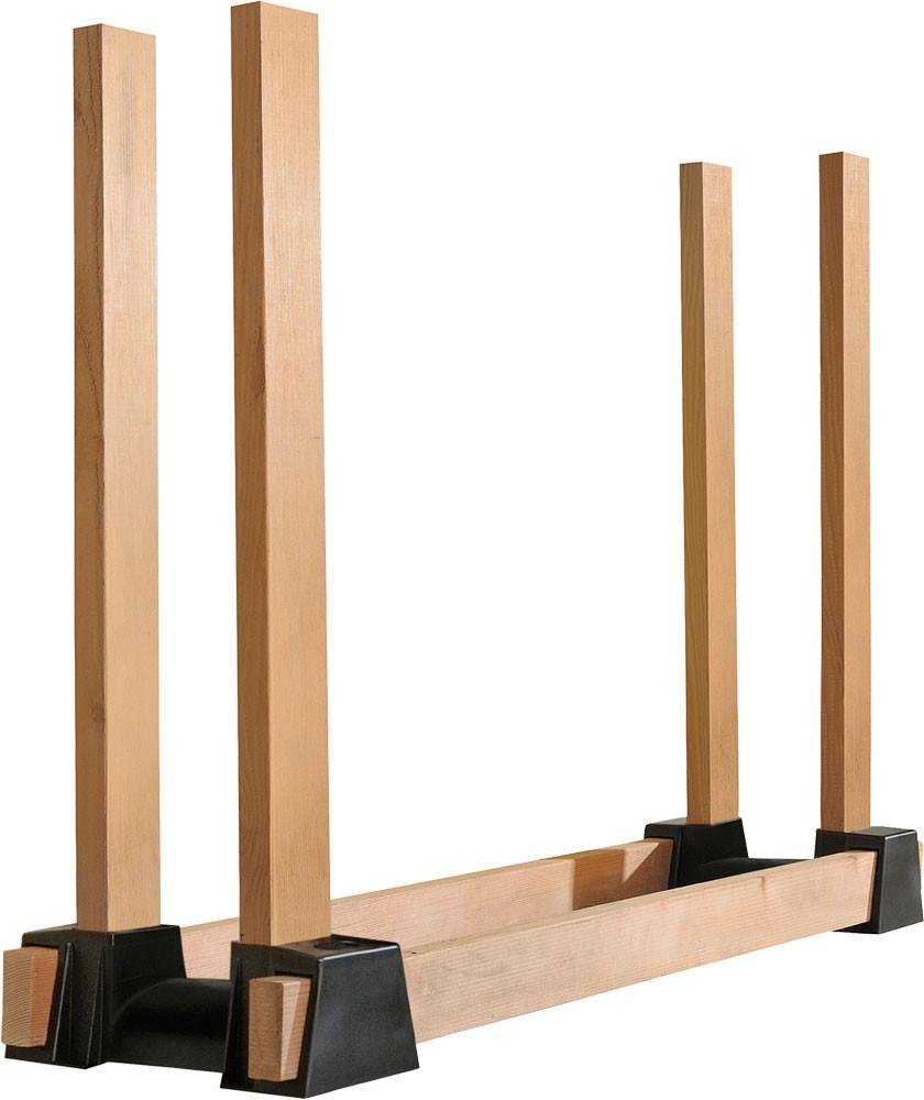 ShelterLogic Firewood Rack Bracket Kit