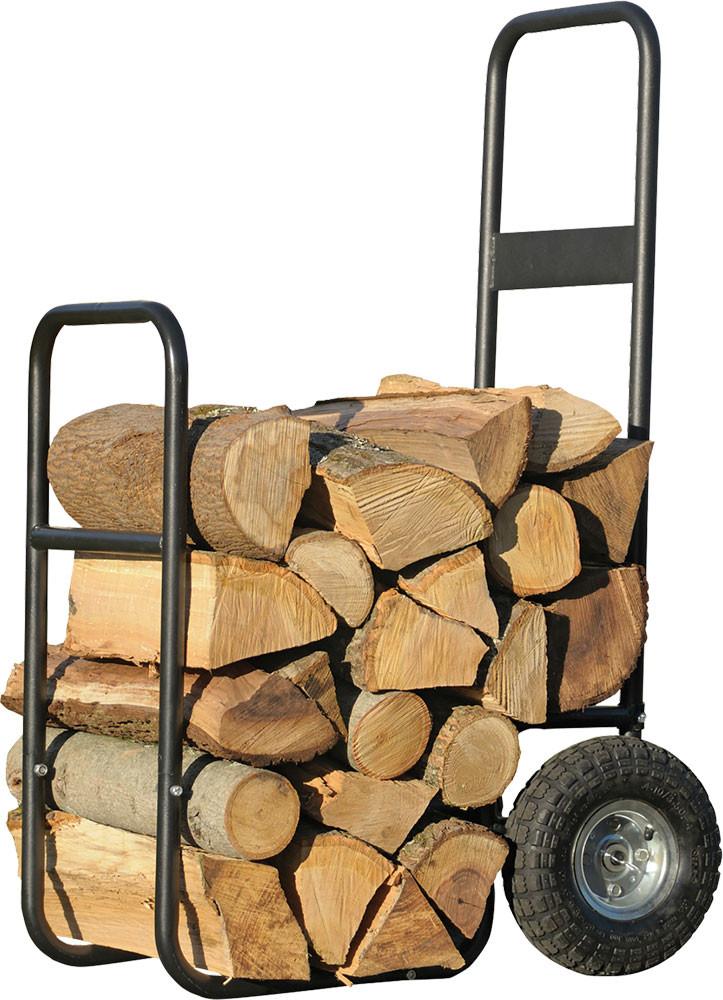 ShelterLogic Haul-It Wood Mover - Rolling Firewood Cart