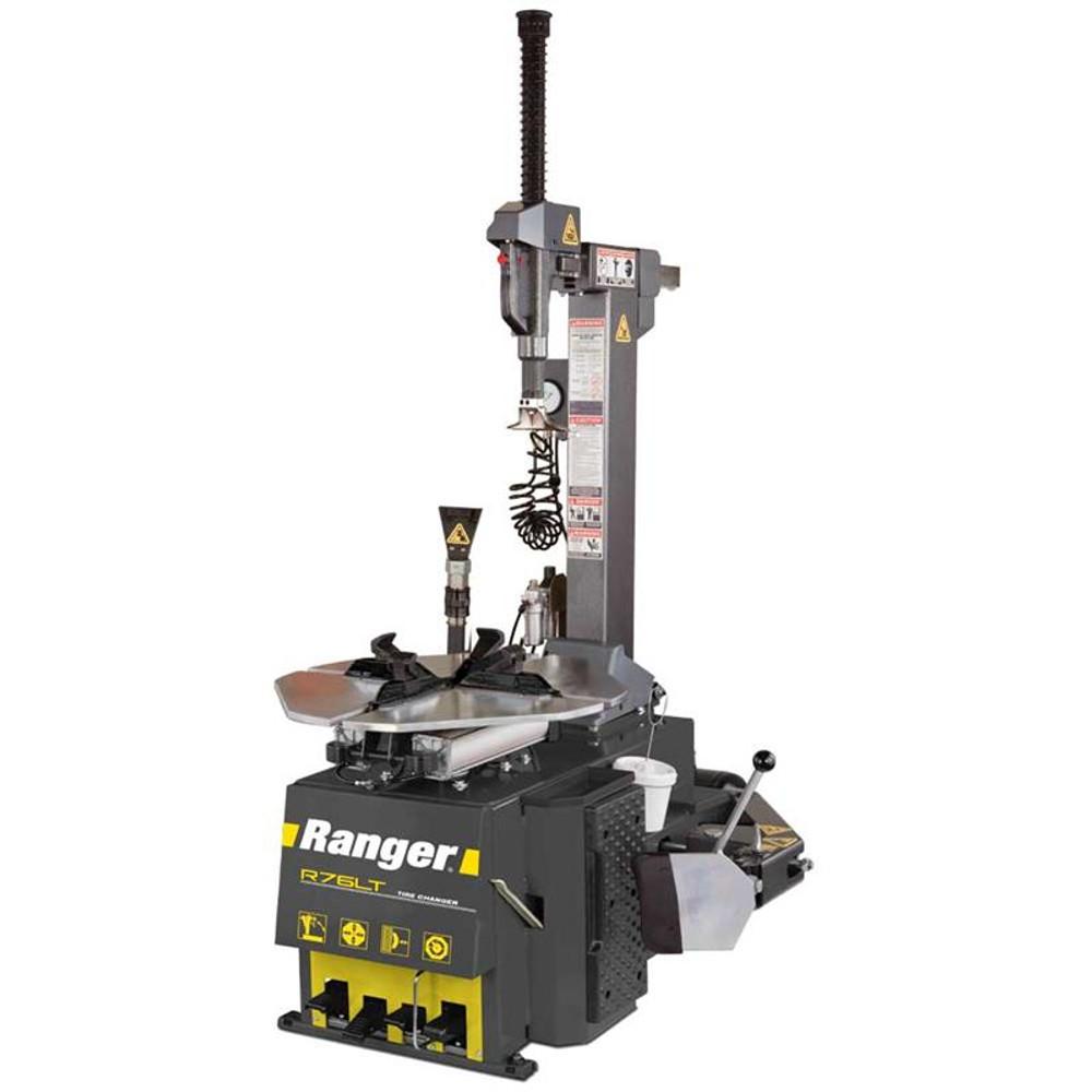 """Ranger R76LT Tilt-Back Tire Changer / 30"""" Capacity - Yellow/Gray"""