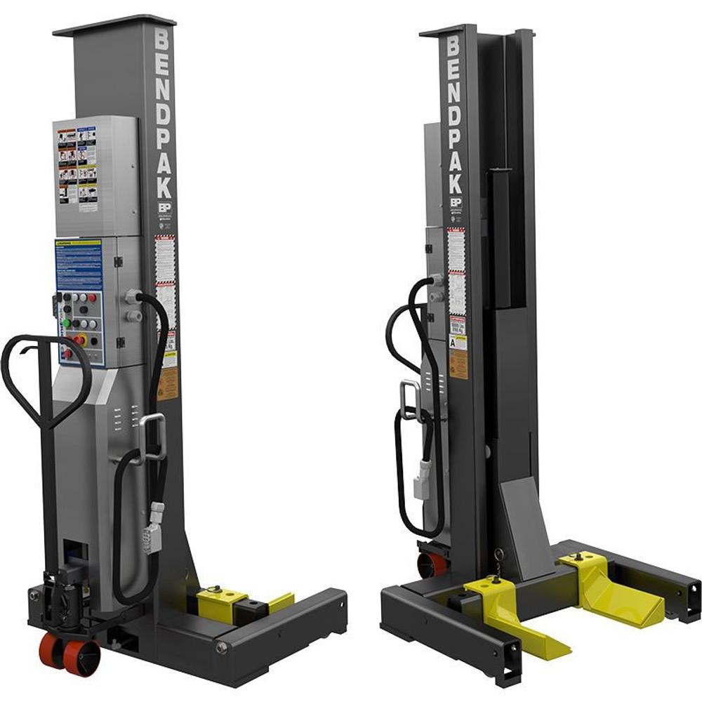 BendPak PCL-18B 18,000 Lb. Capacity per Portable Column Lift - Set of 2 High Voltage ALI Certified