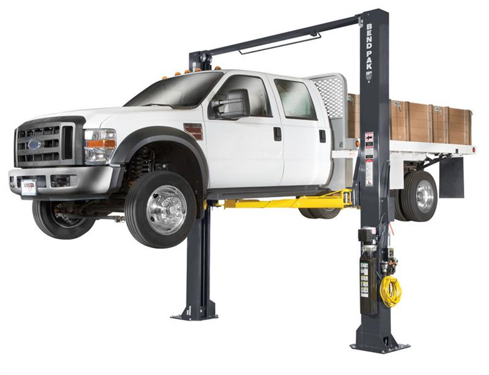 BendPak XPR-12CL-192 Extra Tall, 12,000 Lb. Capacity, ALI Certified Clearfloor, Triple-Telescope Arms-All Four