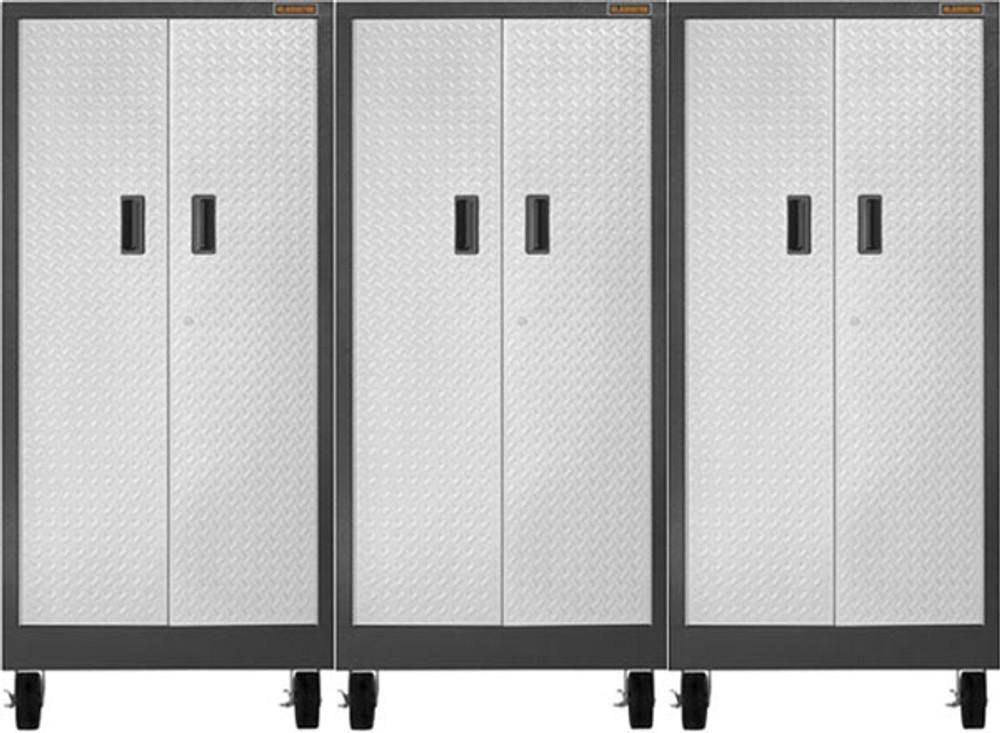 Gladiator Premier Welded Steel 3 Piece Tall Storage Set