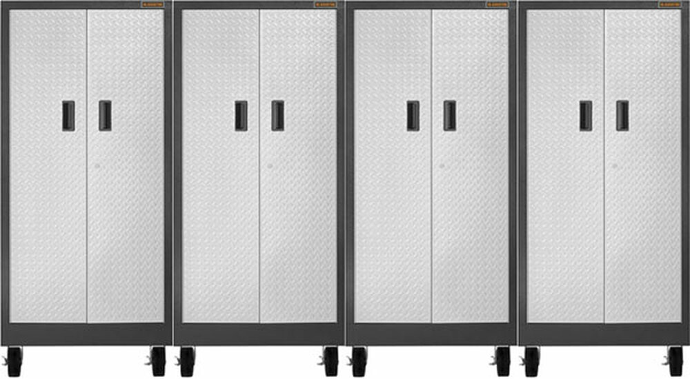 Gladiator Premier Welded Steel 4 Piece Tall Storage Set