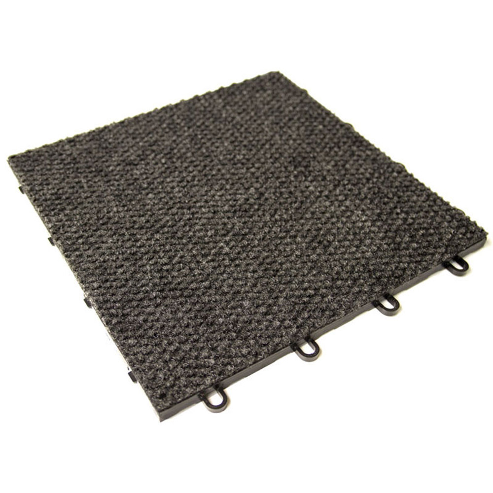 "RaceDeck Snap-Carpet 12"" x 12"" - Charcoal"