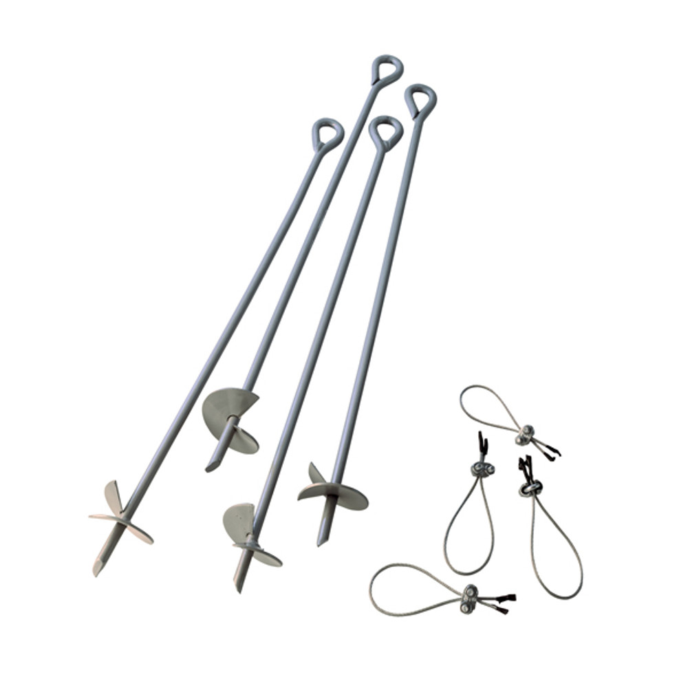 "ShelterAuger 30"" Earth Anchors"