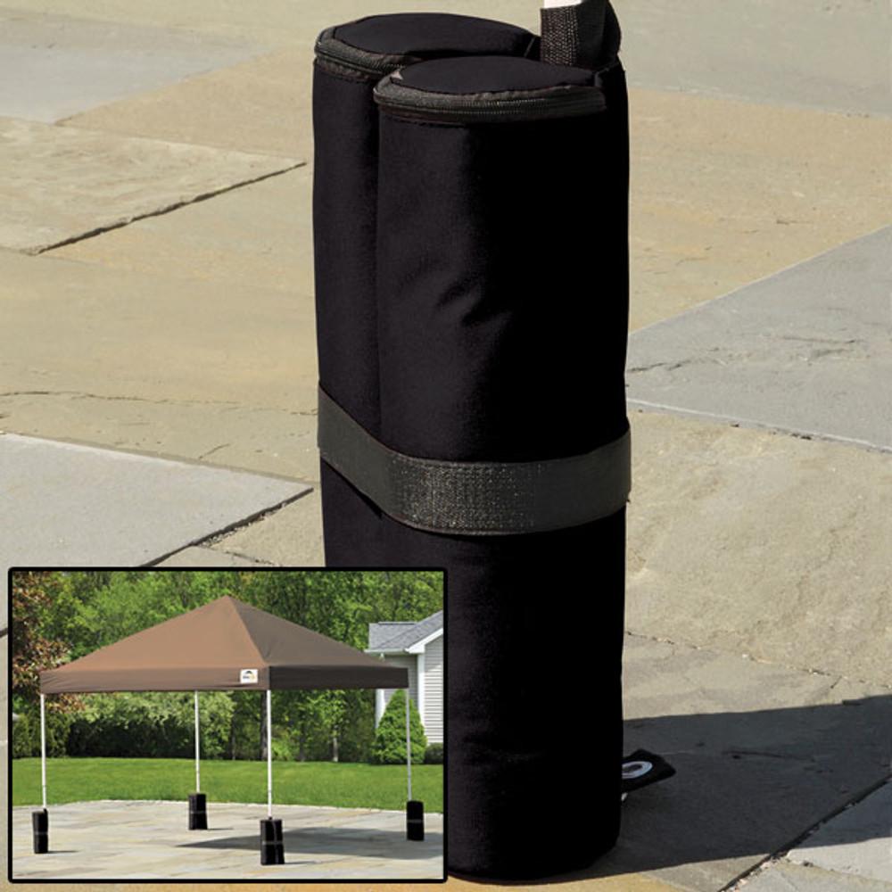 ShelterLogic Canopy Anchor Bag - Black - 4 Pack