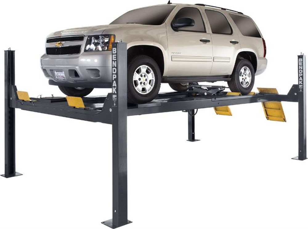 BendPak HDS-14LSXE 14,000-lb. ALI Certified Alignment Lift / Limo Extended / Includes Turnplates and Slip Plates