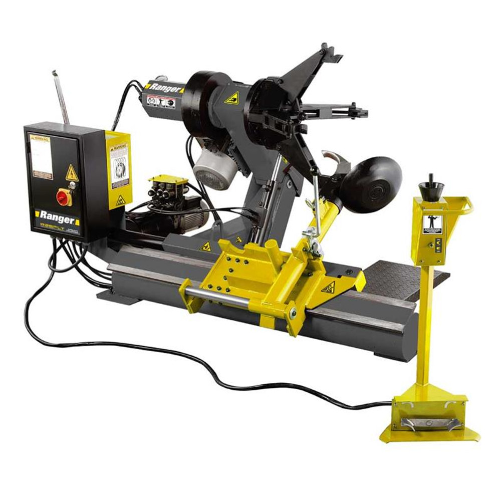 Ranger R26FLT Heavy-Duty Truck Tire Changer / Joystick Control - Yellow/Gray