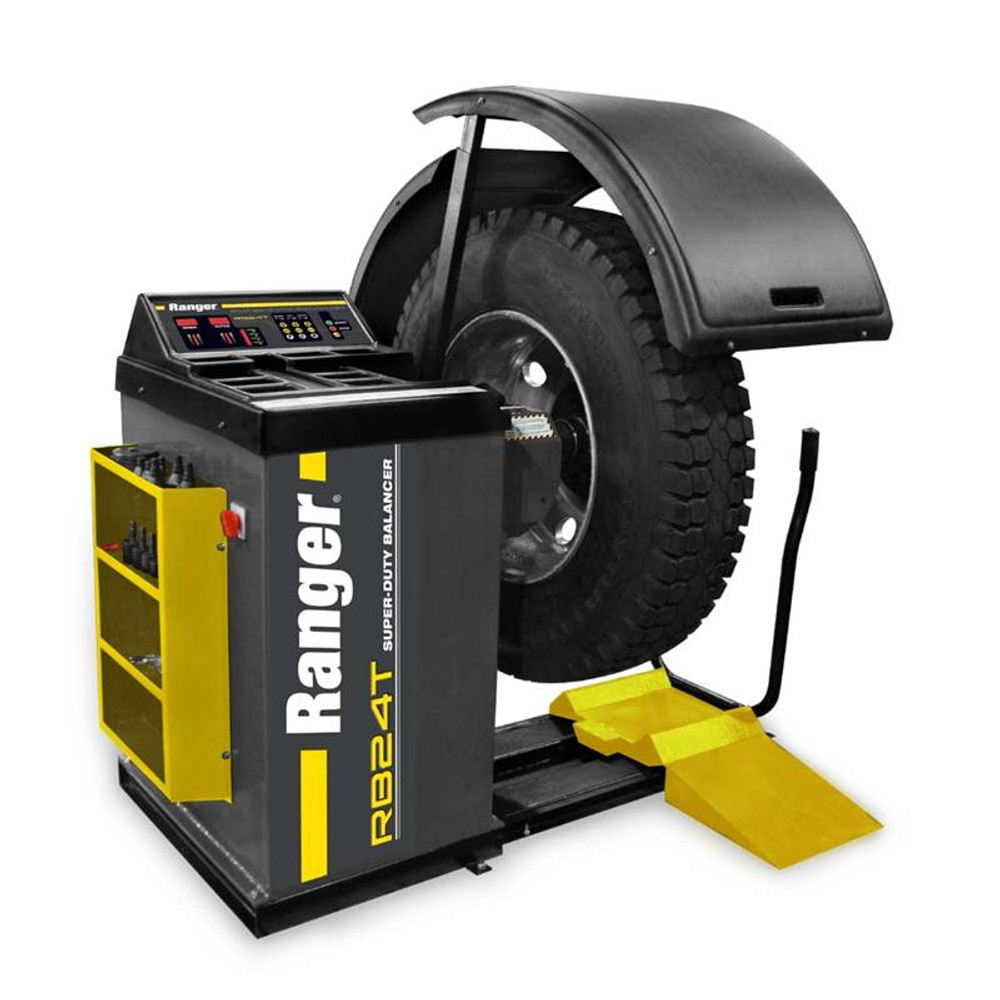 Ranger RB24T SuperDuty Truck Wheel Balancer with DriveCheck Technology - Yellow/Gray