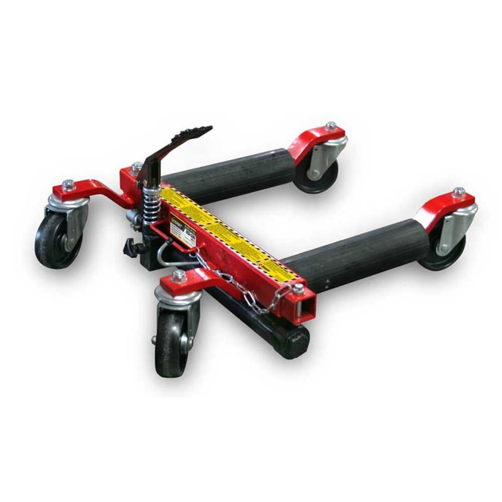 "Ranger RCD-1500 1,500-lb. Capacity GoCart Car Dollies - 12"" Tire Width / 28"" Tire Diameter (Set of 2)"