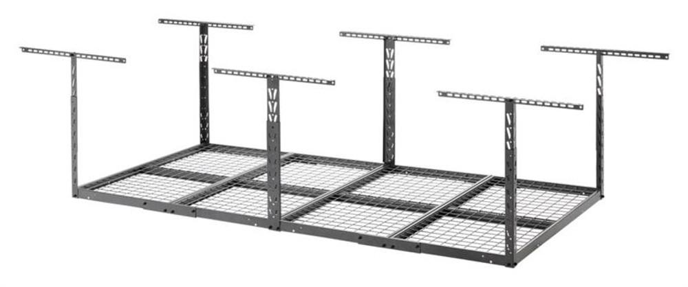 Gladiator Overhead GearLoft Storage Rack 4' X 8' - Hammered Granite
