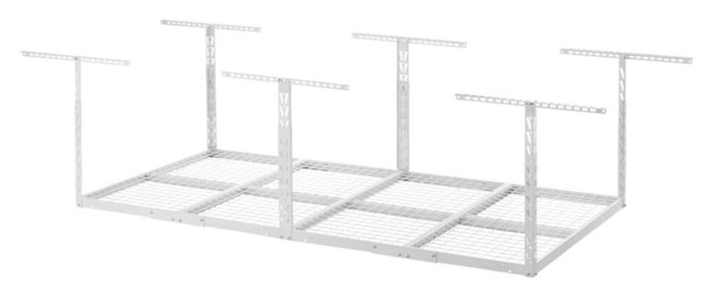 Gladiator Overhead GearLoft Storage Rack 4' X 8' - White