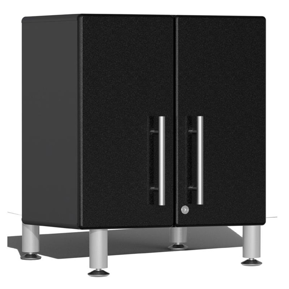 Ulti-MATE Garage 2.0 Series Black Metallic 2-Door All-Purpose Base Cabinet