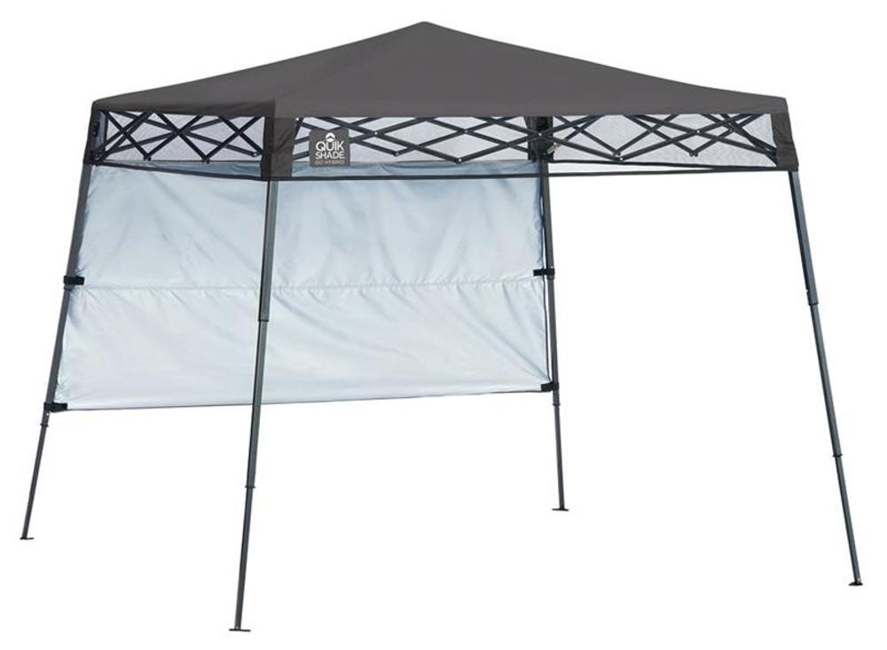 Quick Shade Go Hybrid 6 x 6 ft. Slant Leg Canopy - Charcoal