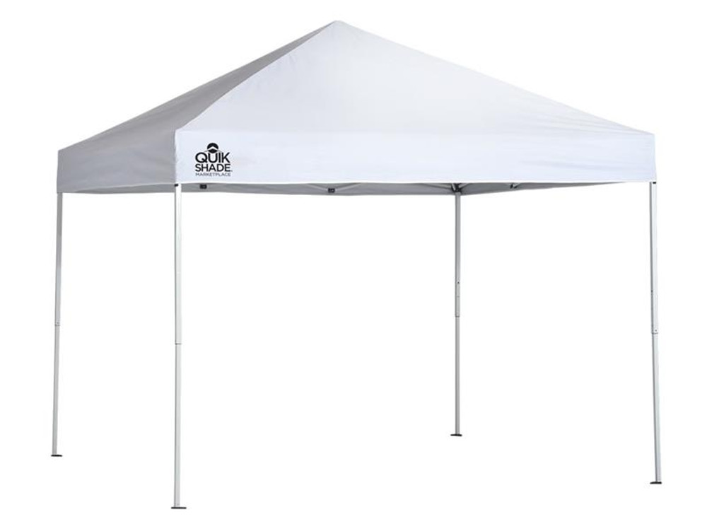 Quick Shade Marketplace MP100 10 x 10 ft. Straight Leg Canopy - White