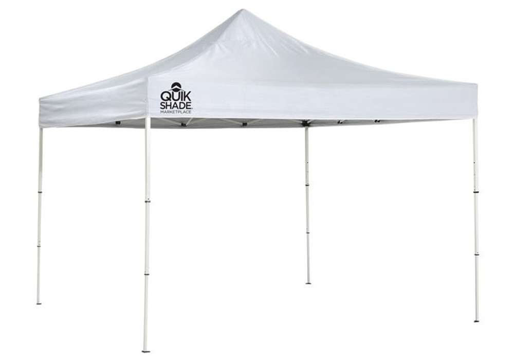 Quick Shade Marketplace MP100 Ultra Compact 10 x 10 ft. Straight Leg Canopy - White