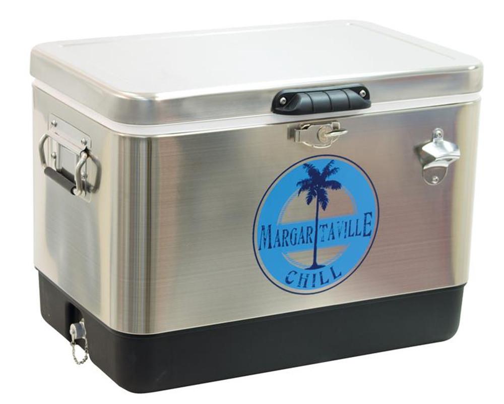 Margaritaville 54 Qt. Stainless Steel Cooler - Margaritaville Chill