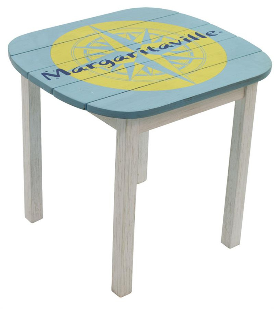 Margaritaville Adirondack Side Table - Nautical Compass