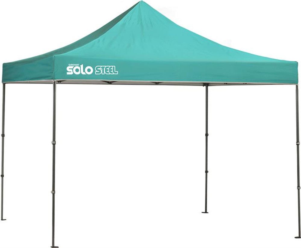 Quick Shade Solo Steel 100 10 x 10 ft. Straight Leg Canopy - Turquoise